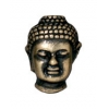 Bead Buddha Large Hole 13.5mm Brass Oxide